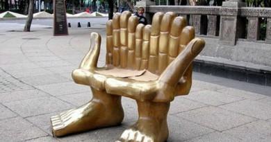 оригинальная идея скамейки