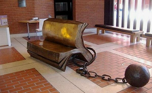 скамейка книжка