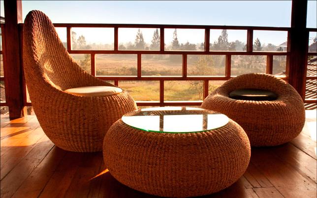 стол и кресла ротанговые