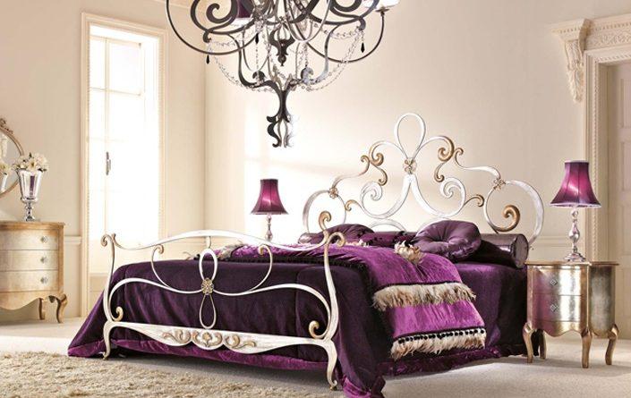 кровать ковка классика